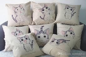 linen cotton fashion waist throw pillow