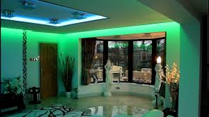 green accent living room mood lighting design idea full size bedroom mood lighting design