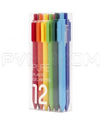 Комплект <b>гелевых ручек</b> KACO Pure Plastic Gel Ink Pen (12 штук ...