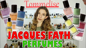 NICHE PERFUMES by <b>JACQUES FATH</b> FULL LINE OVERVIEW ...