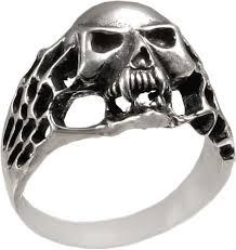 Мужская серебряная печатка перстень ''Череп'' <b>ФИТ</b> 43731-<b>f</b> ...