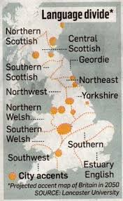 A perceptual map of dialects  from Montgomery  C         Northern English Dialects  A perceptual approach  PhD thesis  pdf