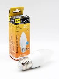 <b>Лампа</b> светодиодная <b>Ecola candle LED</b> 10,0W Premium 220V E27 ...