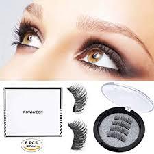ROWNYEON Magnetic Eyelashes Dual Magnetic ... - Amazon.com