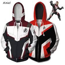 <b>Endgame</b> Quantum <b>Realm Cosplay Costume</b> Hoodie Sweatshirt ...