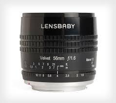 описание <b>Объектив Lensbaby Velvet 56</b> f/1.6 1:2 Macro Nikon F в ...