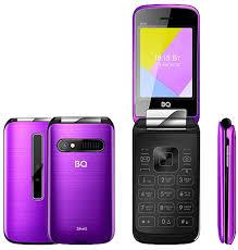 Мобильный <b>телефон BQ 2816</b> Shell Mirror Purple — купить в ...