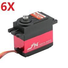 6X <b>JX PDI</b>-<b>6221MG</b> 20KG Large Torque Digital Standard Servo 360 ...