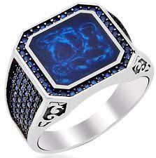<b>Turkey Jewelry Black Ring</b> Men Light-weight 6g Real 925 Sterling ...