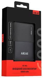Аккумулятор <b>AKAI BE-5002</b> 6000 mAh — купить по выгодной цене ...