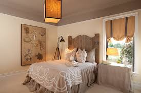 regency manor model mid sized shabby chic style guest bedroom idea in miami with beige walls beige bedroom furniture