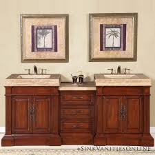 home a double sink bathroom cabinet