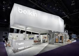 belkin also wanted a showroom for their innovative home office mobile and automotive products catalyst created an engaging vignette approach to belkin office