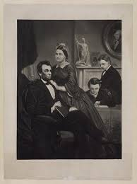 Lincoln with his family
