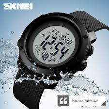 SKMEI <b>Watch</b> Waterproof <b>Men</b> Sport <b>Watches LED</b> Digital Outdoor ...