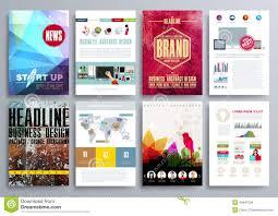 set of design templates for brochures flyers mobile technologi set of design templates for brochures flyers mobile technologi royalty stock photos