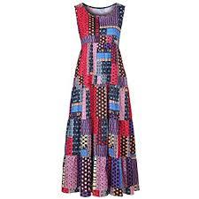 Amazon.com: Women Plus Size <b>Dresses</b>,<b>Summer</b> Boho O-Neck ...