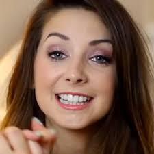 zoella no makeup