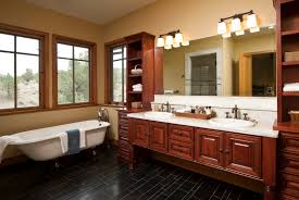 bathroom floor tile small master shapely wooden small master bathroom interiors along with salmon wall