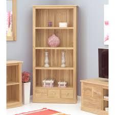 baumhaus mobel solid oak large 3 drawer bookcase cor01a baumhaus mobel solid oak 3