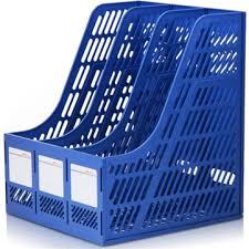 <b>deli</b> 9847 document trays file holder <b>3</b> layers <b>file box</b> plastic file ...