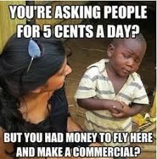 Skeptical World Kid Meme - skeptical third world kid meme ... via Relatably.com