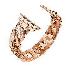 <b>Women</b> Ladies Watch <b>Bracelet for Apple</b> Watch <b>Band</b> Series 5 4 3 2 ...