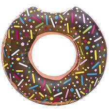 <b>Круг надувной</b> Bestway <b>Пончик</b> 36118, цвет в ассортименте, 107 см