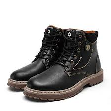 <b>Mens Casual Boots</b> Fashion Martin Boots Mens Work Boots Chelsea ...
