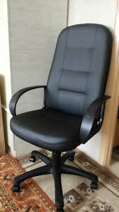Обзор от покупателя на <b>Кресло Tetchair DEVON</b> кож/зам, черный ...