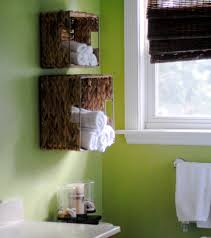 towel rack ideas cabinet