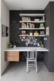 home office ideas how to create a stylish functional workspace apartment therapy beautiful home office chalkboard