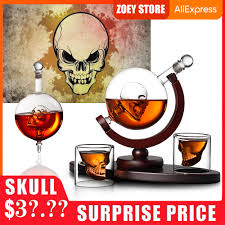 best top 10 <b>glass skull</b> bottle creative ideas and get free shipping ...