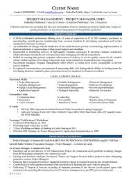 telecom project manager resume bpo resume template samples examples format template net sample it director resume