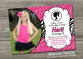 barbie birthday invitations ctsfashion com barbie birthday invites cloudinvitation