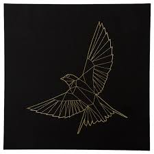 <b>ПЬЕТТЕРИД Картина</b>, Золотая птица купить в интернет-магазине