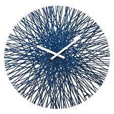 <b>Часы настенные Silk</b> синего цвета — купить по цене 4500 руб в ...