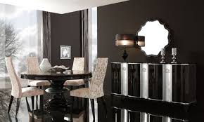 contemporary dining design for residential interior furnishings savoy by planum table black lacquer black laquer furniture