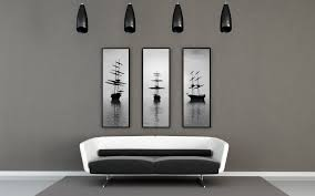 minimal black and white living room black white interior design