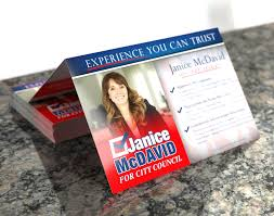 political campaign printing direct mail printplace com political folded postcards