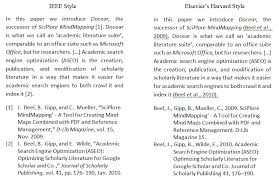Docear Word      Managing citations  bibliographies and references     IEEE
