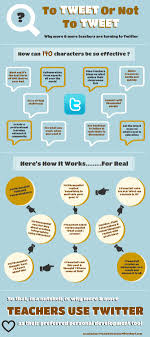 top ideas about websites and apps for education infographic to tweet or not to tweet teacher s use twitter here s how it