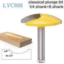 <b>1PC 8mm Shank Small</b> Woodruff Keyseat Milling Cutter 1 1/2 ...
