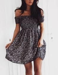 BCX <b>Juniors</b>' Printed Off-The-Shoulder <b>Dress</b> | macys.com | <b>Clothes</b> ...