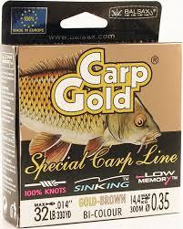 <b>Леска Balsax Gold Carp</b>, 300 м, 0,35 мм, 14,4 кг — купить в ...