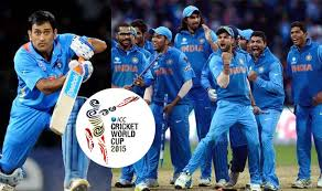 Image result for india 2015 worldcup