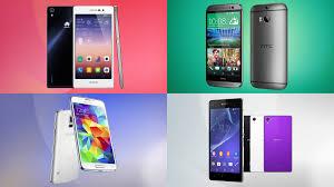 Huawei Ascend P7 vs HTC One M8 vs Samsung Galaxy S5 vs Sony ...