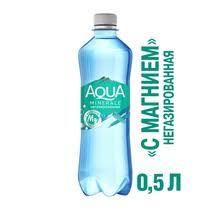<b>Вода</b> питьевая <b>Aqua Minerale</b> Плюс Магний негазированная 0,5 л ...
