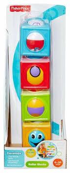 <b>Кубики Fisher</b>-<b>Price Волшебные кубики</b> CBL30 — купить по ...