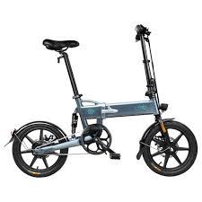 <b>FIIDO D2</b> Folding Electric Moped Bike 7.8Ah Dark Gray